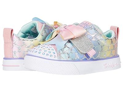 SKECHERS KIDS Twinkle Toes Twinkle Breeze 2.0 314903N (Toddler/Little Kid) (Light Pink/Multi) Girl