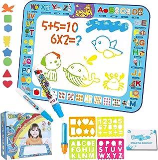 Tapis de Dessin du Grand Size,Tapis Dessin Eau Doodle pour les Enfants, Cadeau d'anniversaire pour Enfant Jouets