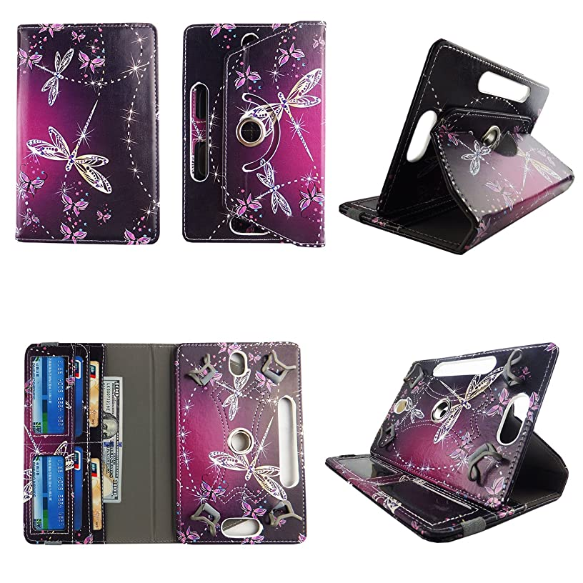 Sparkly Butterfly tablet case 8 inch for Samsung Galaxy Tab A 8