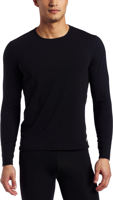 Hot Chillys Men's MTF4000 Top (Black, Large)