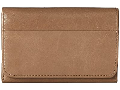 Hobo Jill Trifold Wallet (Cobblestone) Clutch Handbags