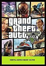 Grand Theft Auto V + Tiger Shark Cash Card PC (Rockstar Social Club download code Only (NO CD/DVD)