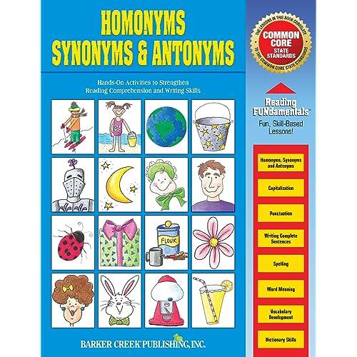Amazon.com: Homonyms, Synonyms & Antonyms (0612086016006): Karen  Shackelford: Books
