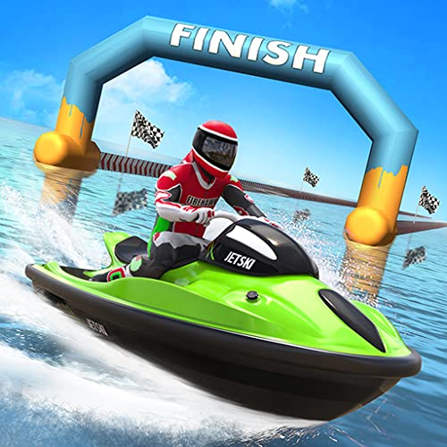Real Jet Ski Speed Racing: Powerboat Driving Adventure 2019