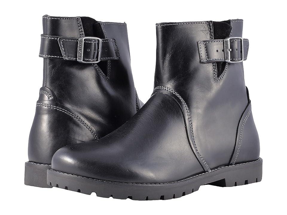 Birkenstock Stowe (Black Leather) Women