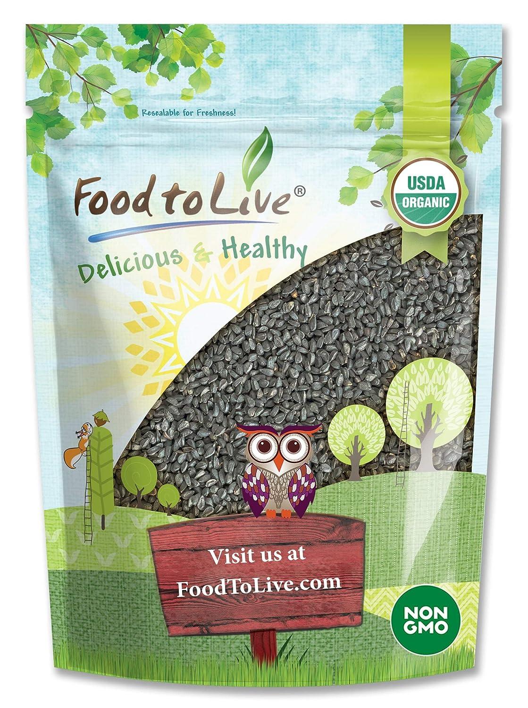 Organic Black Cumin Seeds, 1 Pound - Non-GMO, Whole Nigella Sati