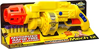Buzz Bee Toys Air Warriors Motorized Mech 12 Blaster
