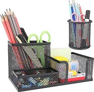 6-piece Desk Accessories Set with Bonus Pen PROJECT 22 ORGANIZER SET Pencil...