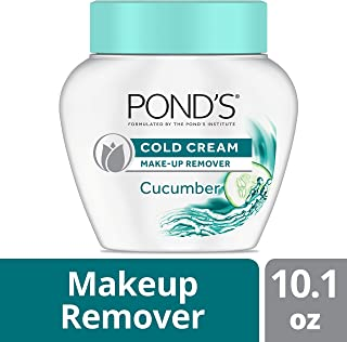 Pond's Cold Cream Make-up Remover, Cucumber 10.1 oz (pack of 3)