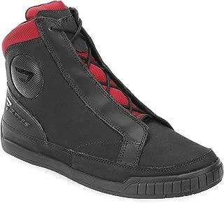 Bates Taser Performance Men's Motorcycle Boots (Black/Red, Size 8.5)