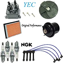 Tune Up Kit Filters Cap Rotor Plugs Wire for Honda Civic CX; DX; LX; 1.6L D16Y7 Eng 1996-2000