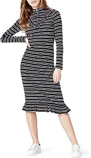 comprar comparacion Marca Amazon - find. Vestido de Rayas Mujer