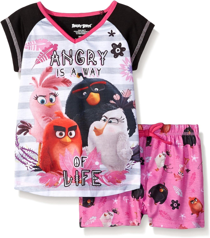 Angry Birds Girls 2 Piece Short Set