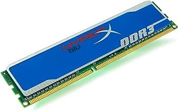 Kingston Technology HyperX Blu 2 GB 2 Not a kit (Single) 1600 (PC3 12800) 240-Pin DDR3 SDRAM KHX1600C9D3B1/2G