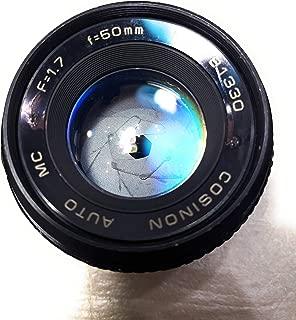 Rm Camera- COSINAON M42 Screw Mount Lens 50MM f=1.7(781330)