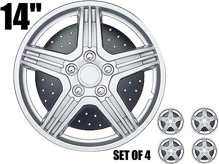 CAR+ Orginal set of 4 Hub Caps