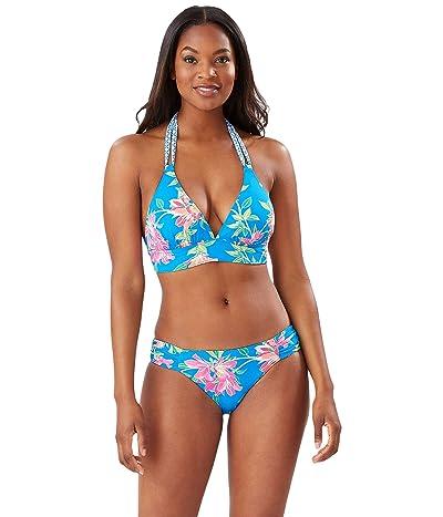 Tommy Bahama Sun Lilies Reversible Halter Bra