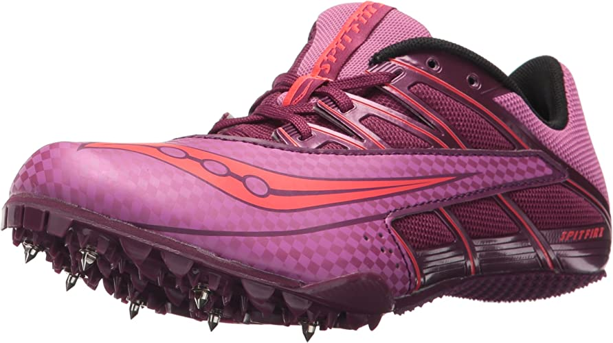 Saucony femmes s Spitfire 4 Track and Field chaussures, violet rose, 7 Medium US