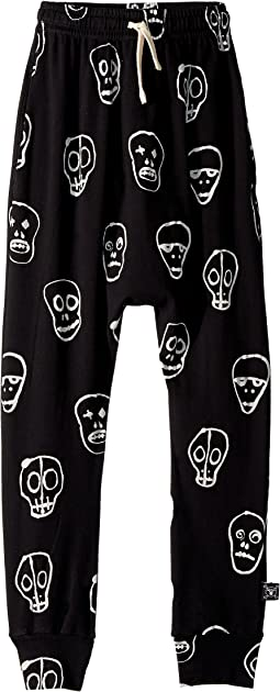 Skull Mask Baggy Pants (Little Kids/Big Kids)