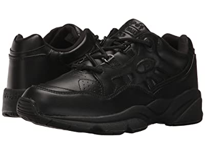 Propet Stability Walker Medicare/HCPCS Code = A5500 Diabetic Shoe (Black Leather) Women