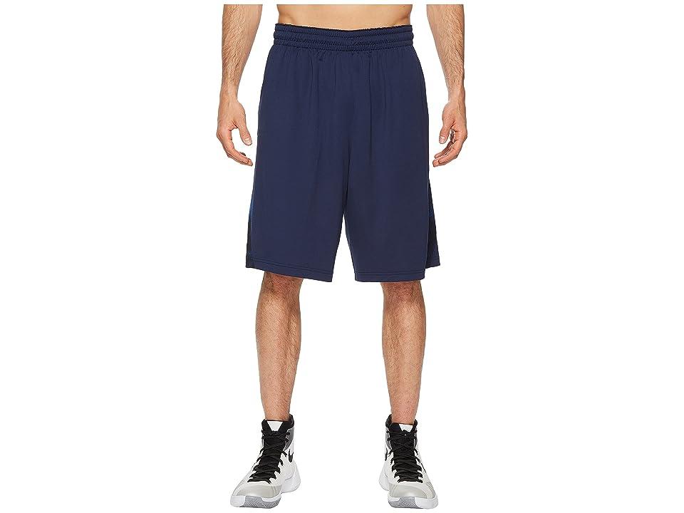 Nike Dry Buckets Basketball Short (Midnight Navy/Black/Hyper Cobalt) Men