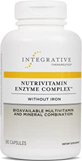 Sponsored Ad - Integrative Therapeutics - Nutrivitamin Enzyme Complex without Iron - Bioavailable Multivitamin and Mineral...