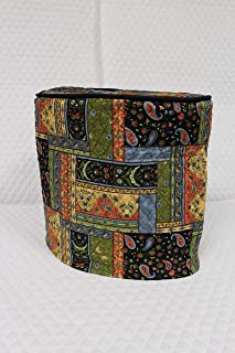 Simple Home Inspirations Black Patch Quilted Cover Compatible with Keurig Coffee Brewing System