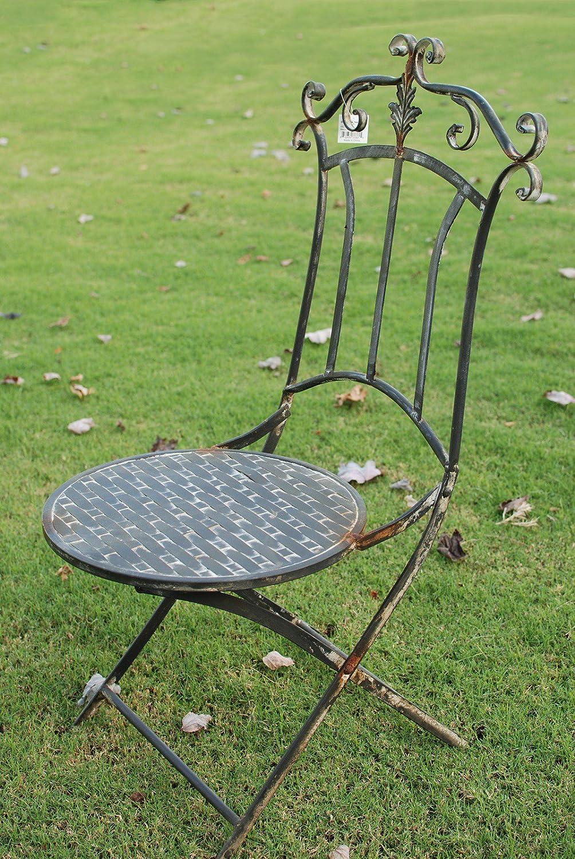 Attraction Design HG1237 Metal Antique Chair