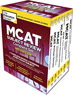 The Princeton Review MCAT Subject Review Complete Box Set, 3rd Edition: 7 Complete Books..