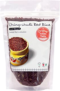 Original Indian Table Chingrihuli Red Rice, Parboiled, 400g