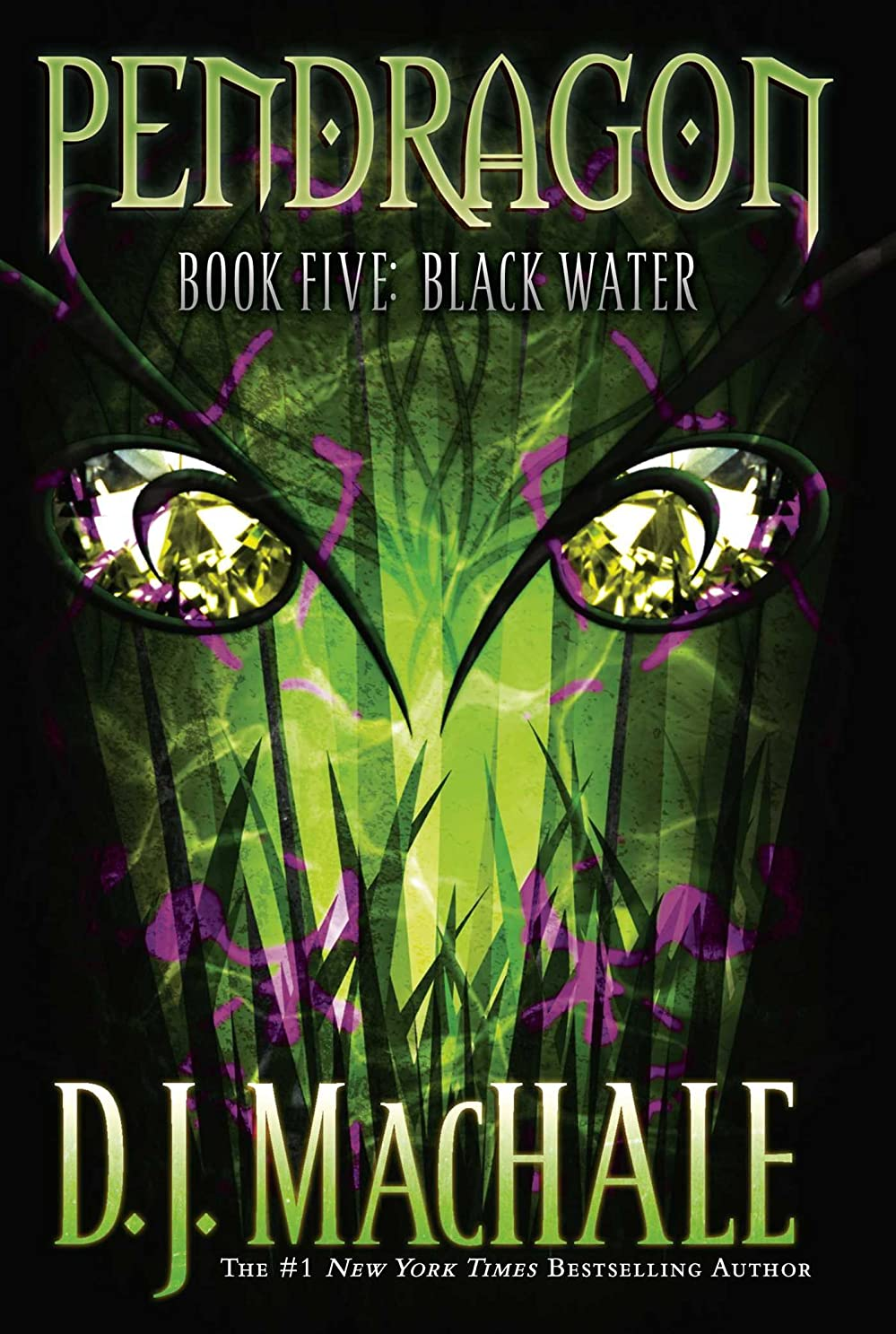 ユーモラス舌な意図Black Water (Pendragon Book 5) (English Edition)