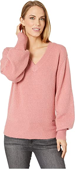 V-Neck Big Sleeve Sweater