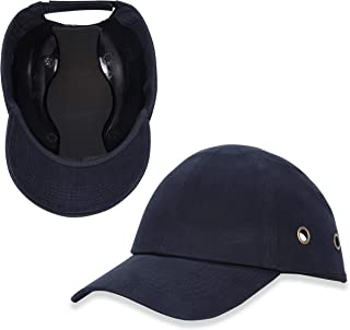 Holulo Navy Blue Safety Protection Baseball Bump Cap Hard Hat Head Protection Tech Cap