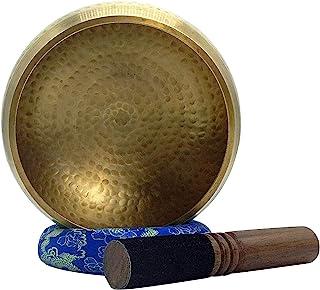 Hand Hammered Tibetan Singing Bowl Seven Metals Healing Meditation Grade Professional Quality