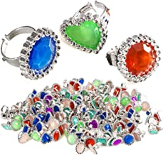 Tigerdoe Rhinestone Plastic Rings – Princess Rings – Princess Accessories