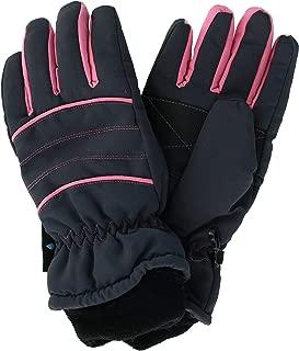 Grand Sierra Women's Waterproof Ski Glove with Contrast Piping