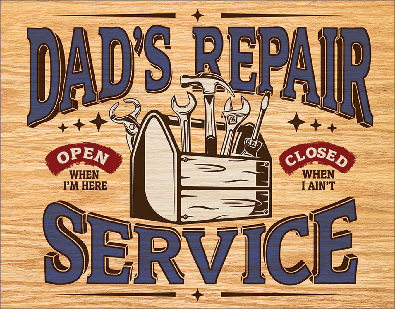 Desperate Enterprises Dad's Repair Service Tin 16