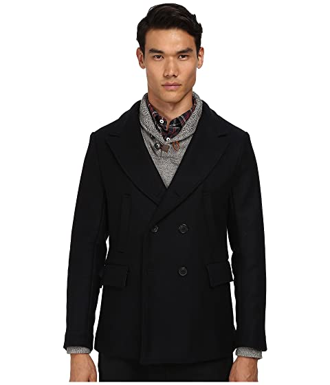 shop for official discover latest trends stable quality Billy Reid Bond Peacoat at Luxury.Zappos.com