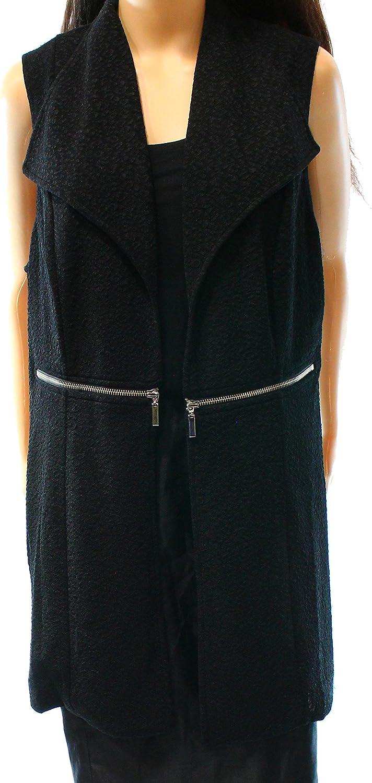 Alfani Womens Textured Fashion Vest