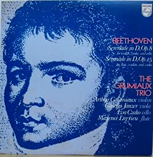 [Philips] グリューミオー・トリオ ベートーヴェン:セレナード Grumiaux trio : Beethoven Serenades OP.8 & Op.25 Maxence Larrieu (Flute)