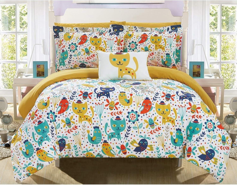 8 Piece Cat depot Comforter Full Sized Set Bedding Kids Kitty Top Hat Ranking TOP16
