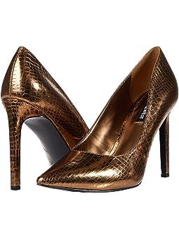 Women's Bronze Shoes + FREE SHIPPING