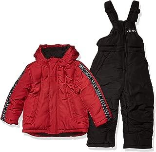 DKNY Boys' Toddler 2 Piece Snowsuit Set