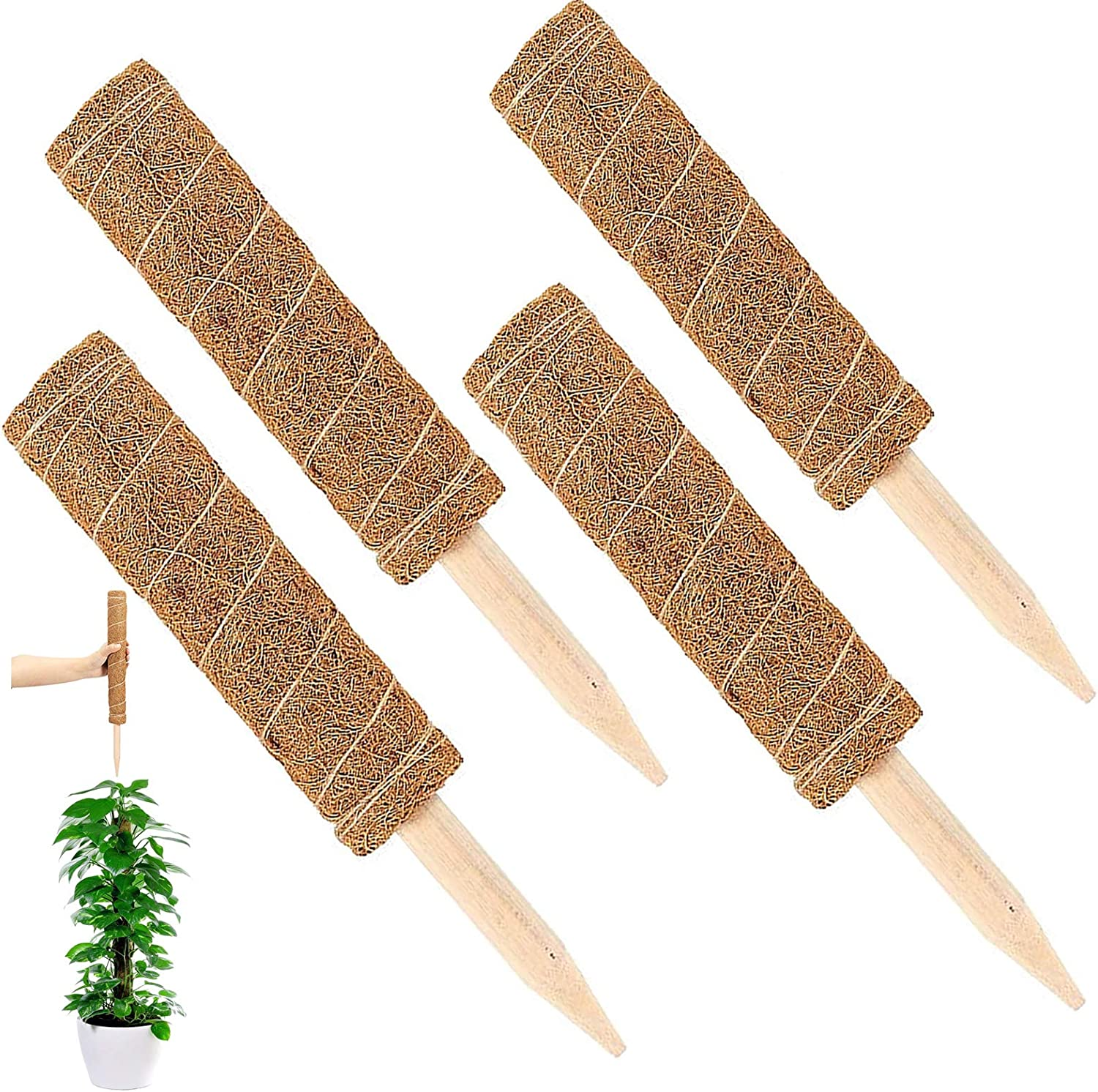 UPMCT Moss Pole Plant Superior Support 47.8 lowest price Extendable Extension Inches