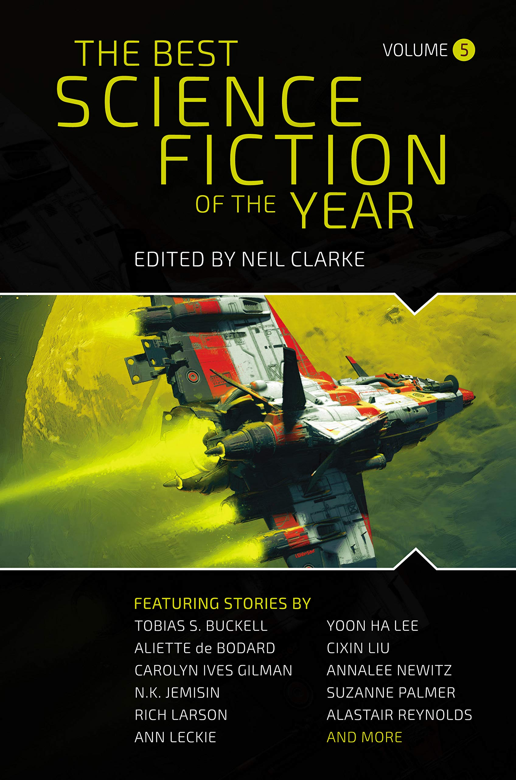 The Best Science Fiction of the Year: Volume 5