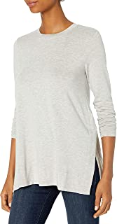 Amazon Brand - Daily Ritual Women's Long-Sleeve Split-Hem...