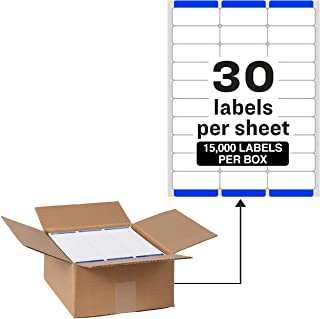 """Avery Address Labels with Sure Feed for Laser Printers, 1"""" x 2-5/8"""", 15,000 Labels � Great for FBA Labels (95915)"""
