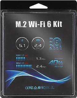 ASRock DeskMini用 Wi-Fi オプションキット Wi-Fi6対応 【国内正規代理店品】M.2 WiFi 6 kit (AX200) for DeskMini (BOX)