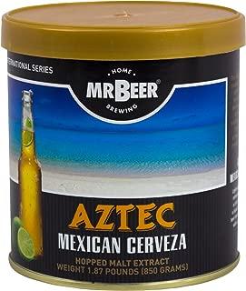 Mr. Beer Aztec Mexican Cerveza 2 Gallon Homebrewing Refill, Multicolor