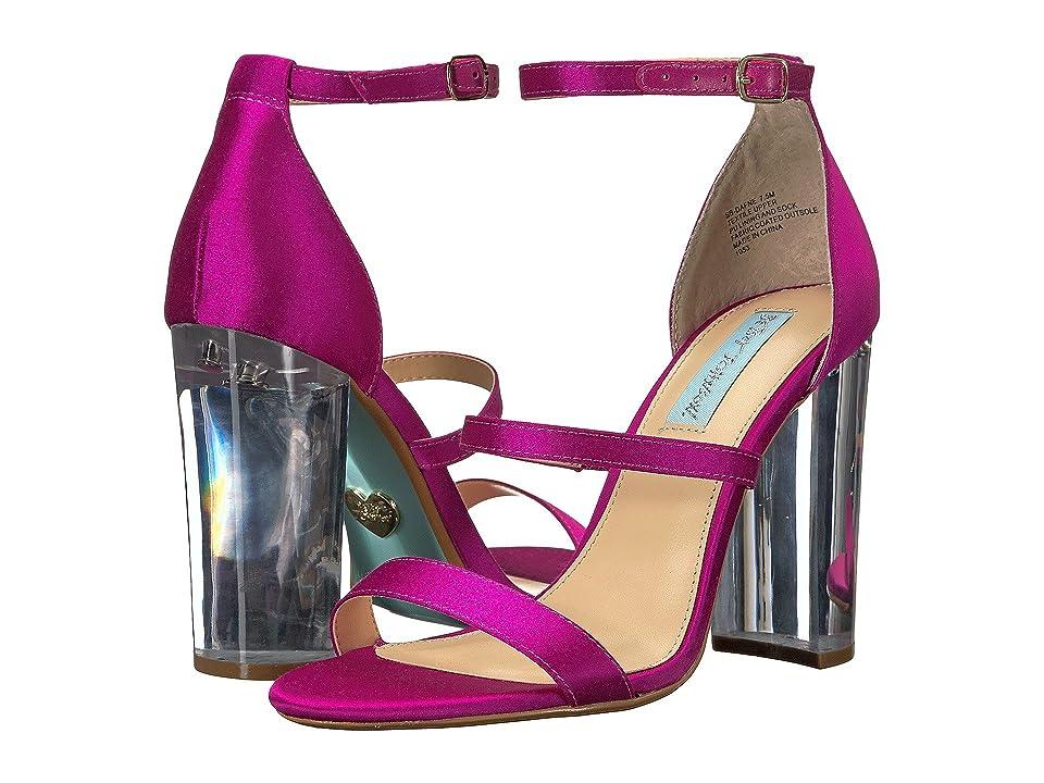 Betsey Johnson Dafne (Raspberry) High Heels